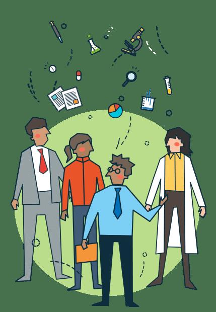 Illustration de menu pour : Projets de coopération